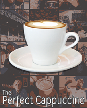 The Perfect Cappuccino – Postcard