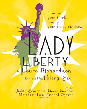 Lady Liberty – Postcard