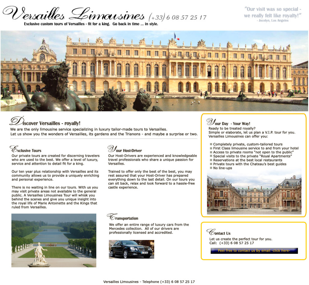 versailles_limo
